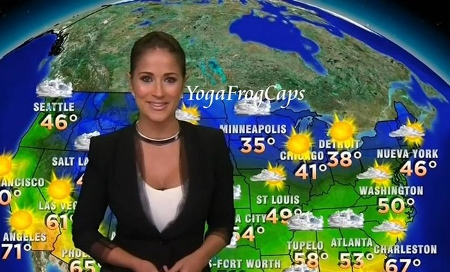 Jackie Guerrido - Univision, South America