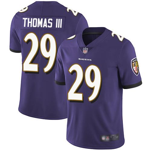 Men's Terrell Suggs Purple Limited Football Jersey: Baltimore Ravens #55 Rush Drift Fashion  Jersey