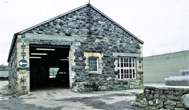 Northern face of the Goods shed