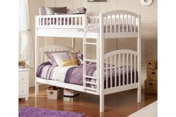 Richland Bunk Twin over Twin in White
