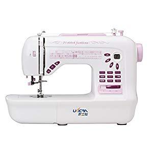UKICRA UFR-787 72-Stitch Double-Needle Free-Arm Computerized Sewing Machine