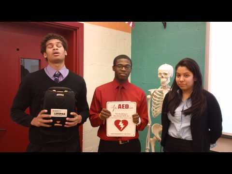 Don Bosco Cristo Rey High School AED Donation