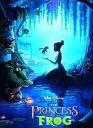 公主和青蛙 动画海报