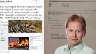 Aftonbladets Anders Lindberg anmälde kritisk grupp på Facebook till MSB – gruppen har raderats