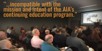 American Institute of Architects Terminates AE911Truth's Continuing Education Provider Status