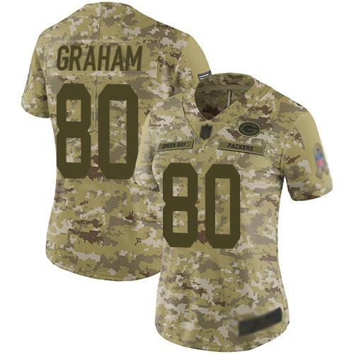Women's Jimmy Graham Navy Blue Alternate Elite Football Jersey: Green Bay Packers #80 Vapor Untouchable  Jersey