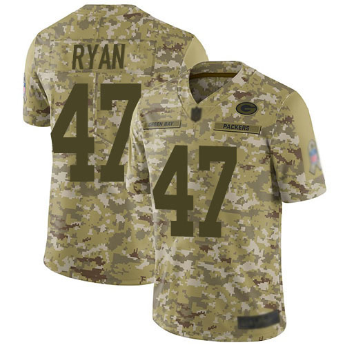 Women's Jake Ryan White Road Elite Football Jersey: Green Bay Packers #47 Vapor Untouchable  Jersey