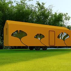 公务休闲房车  拖挂式房车 可住4至6人