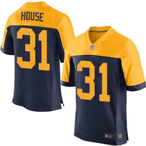 Men's Davon House Navy Blue Alternate Elite Football Jersey: Green Bay Packers #31  Jersey
