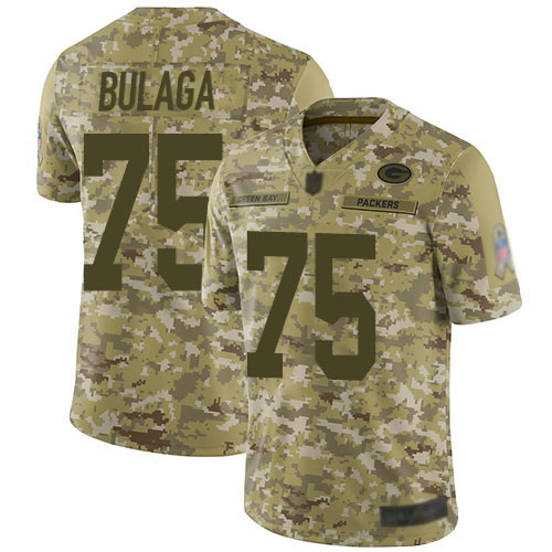 Women's Bryan Bulaga Green Home Elite Football Jersey: Green Bay Packers #75 Vapor Untouchable  Jersey