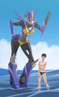Jack Darby and Arcee fanfic.jpg