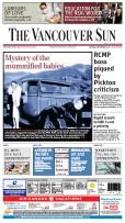 Vancouver Sun Print Edition