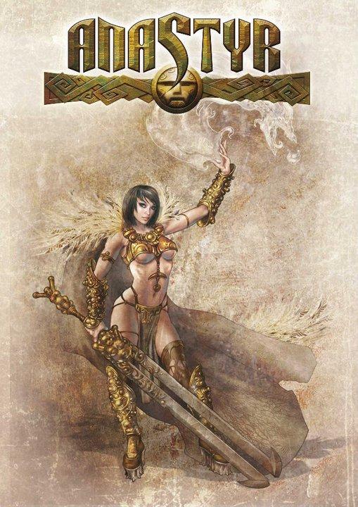 Paolo Parente Anastyr Female Warrior 1