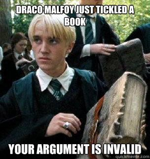Image result for draco malfoy meme