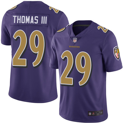 Women's Eric Weddle Purple Limited Football Jersey: Baltimore Ravens #32 Rush Vapor Untouchable  Jersey
