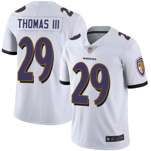 Men's Terrell Suggs White Road Limited Football Jersey: Baltimore Ravens #55 Vapor Untouchable  Jersey