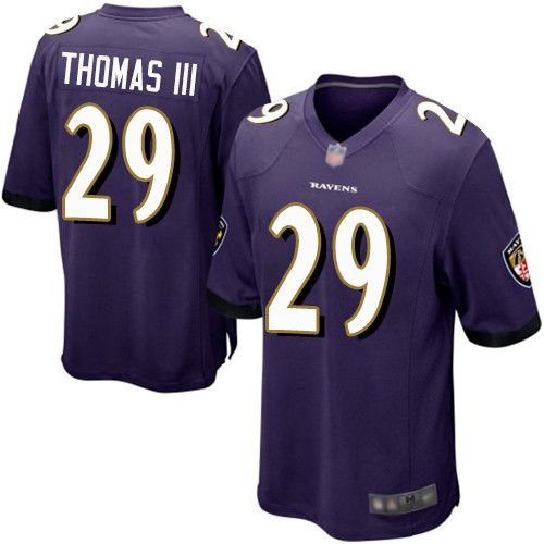 Men's Terrell Suggs Purple Home Game Football Jersey: Baltimore Ravens #55  Jersey