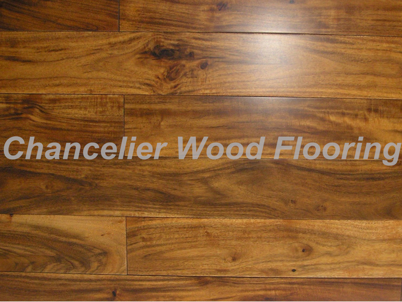 Brown Color Acacia flooring