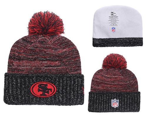 Football San Francisco 49ers Stitched Knit Beanies 008