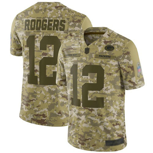 Women's Aaron Rodgers Green Home Elite Football Jersey: Green Bay Packers #12 Vapor Untouchable  Jersey