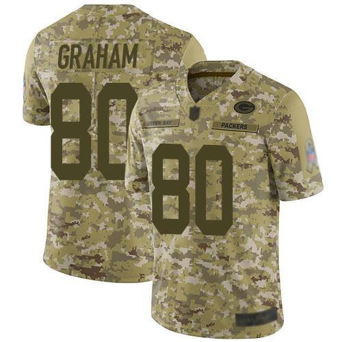 Women's Jimmy Graham Green Home Elite Football Jersey: Green Bay Packers #80 Vapor Untouchable  Jersey