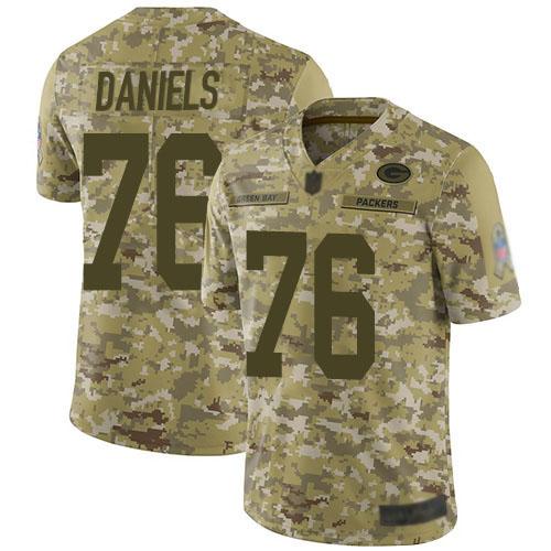 Women's Mike Daniels Green Home Elite Football Jersey: Green Bay Packers #76 Vapor Untouchable  Jersey
