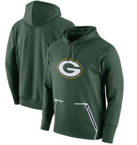 Football Green Bay Packers  Champ Drive Vapor Speed Pullover Hoodie - Green