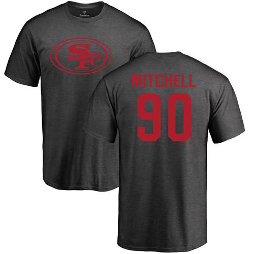Raheem Mostert Black Name & Number Logo Football : San Francisco 49ers #31 Pullover Hoodie