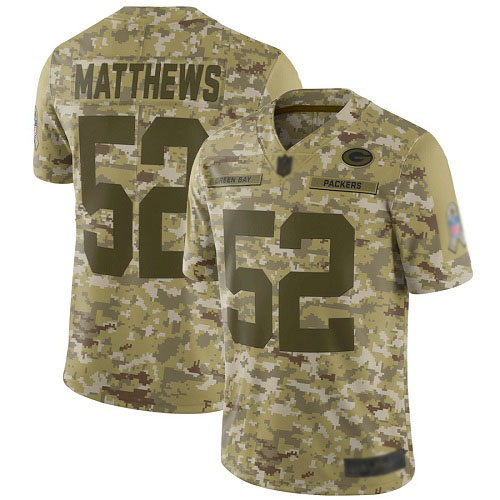 Women's Clay Matthews Green Home Elite Football Jersey: Green Bay Packers #52 Vapor Untouchable  Jersey
