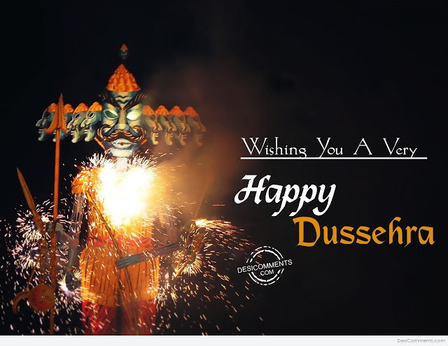 Happy Dussehra 2017 Wishes SMS Messages in English