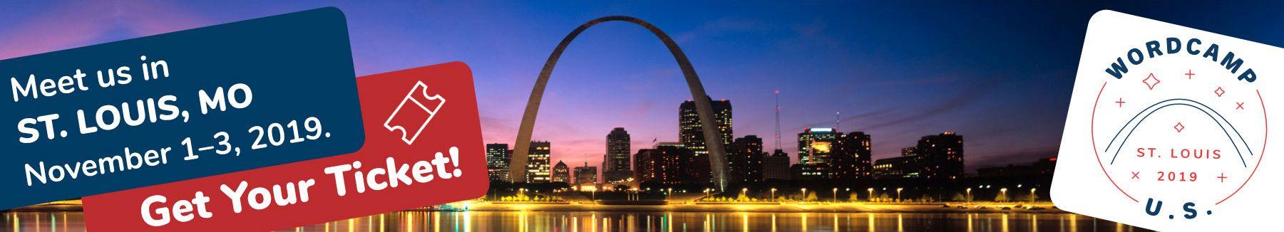 WordCamp US 2019 in St. Louis, Missouri