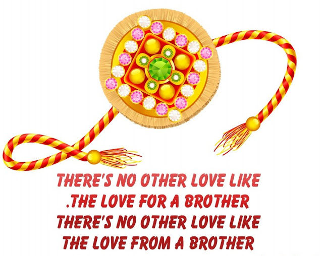 Raksha Bandhan Greetings For Brother