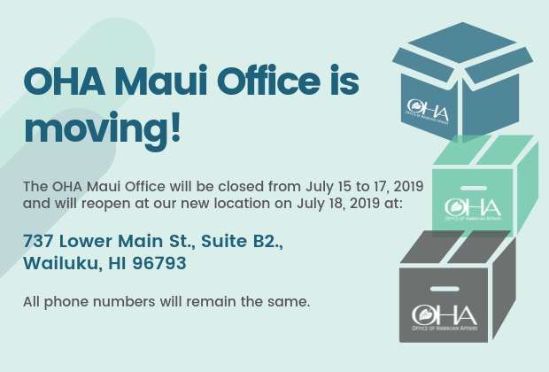 notice of maui office move