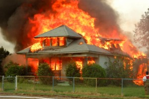 Fire Damage Image from State Public Adjuster