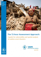 The 72-hour Assessment Approach: A guide for vulnerability and spatial analysis in sudden-onset disasters, June 2018