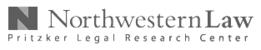 Pritzker Legal Research Center, Northwestern Law