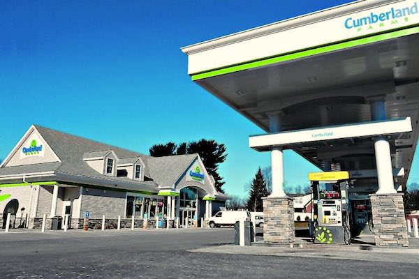 Next-generation Cumberland Farms store.