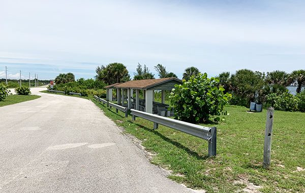 Moore's Point, where picnic tables are today near the St. Sebastian Bridge, used to have a hotel where Grover Cleveland stayed when visiting Sebastian, Florida.