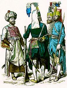 Janissary soldiers