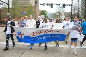 Louisiana Episcopalians  March for Our Lives