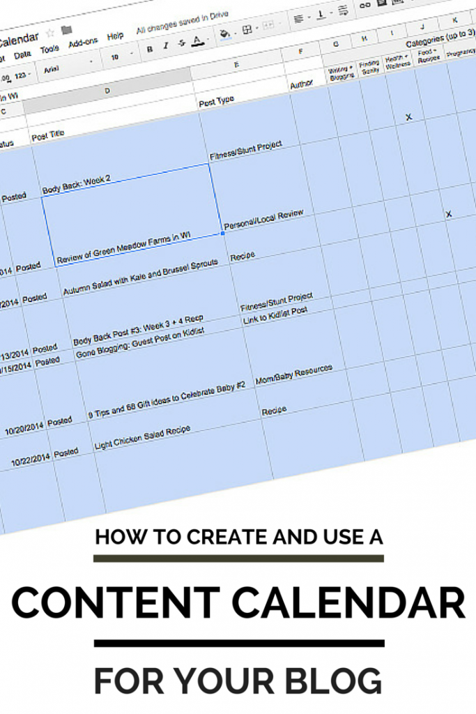 How to Create and Use a Content Calendar for Your Blog