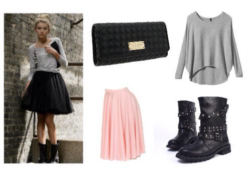 Ballet Fashion, Ballet Skirt, Moto Boots