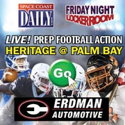 WATCH REPLAY ON SPACE COAST DAILY TV: Heritage Shuts Out Palm Bay 35-0 in Kickoff Classic Action Friday Night