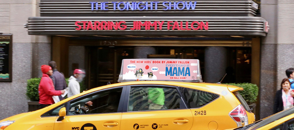 Jimmy Fallon - Everything is MAMA - Taxi Top