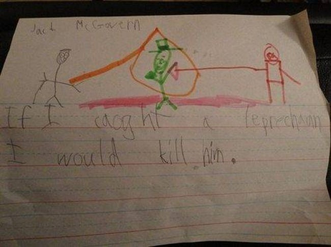 Probably the Best Course of Ac is listed (or ranked) 36 on the list 51 Unintentionally Hilarious Kids' Drawings