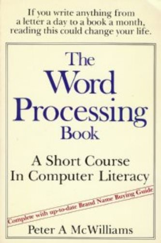 the-word-processing-book-peter-mcwilliams-books-about-computer