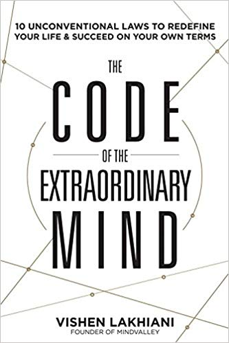 code of the extraordinary mind business books 2016