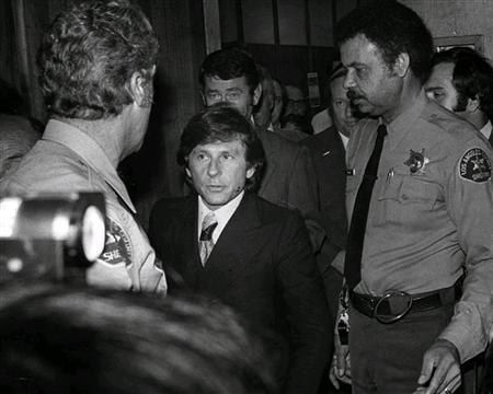 Director Roman Polanski exits the Santa Monica Courthouse after a hearing in his sexual assault case in Santa Monica, California October 24, 1977. REUTERS/Chris Gulker/Herald Examiner Collection/Los Angeles Public Library