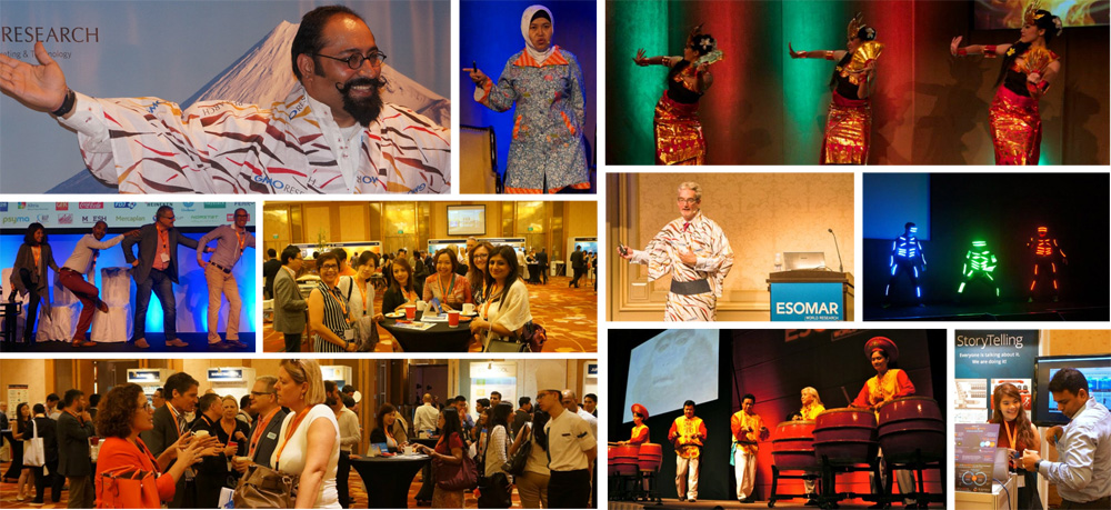 Past ESOMAR Asia Pacific conferences