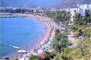 Icmeler as a tourist resort in Turkey